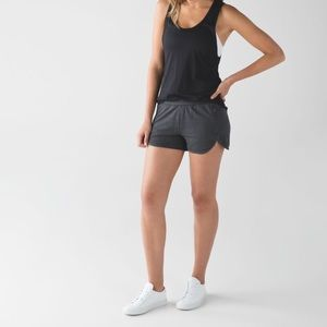 Lululemon | Take Ten Short in Charcoal Grey